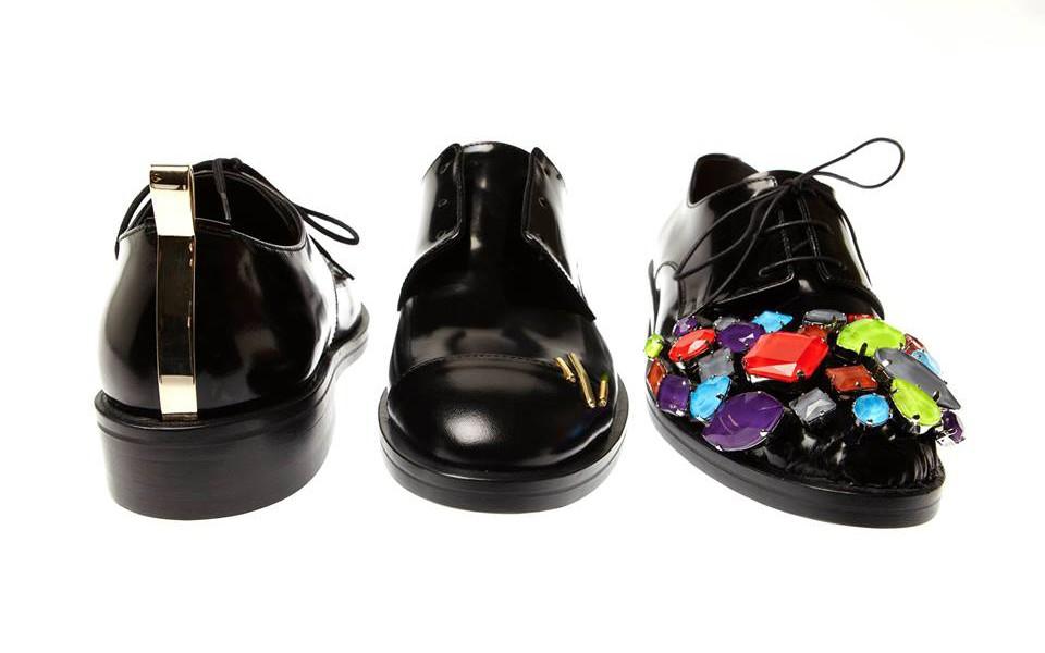 coliac trio di scarpe
