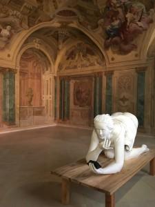 Inside Belvedere Palace
