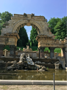 A Restoration Project in the Schönbrunn Gardens
