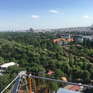 Wiener Riesenrad Ferris Wheel View