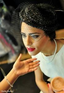 Fiorella Migliore actress on the stage