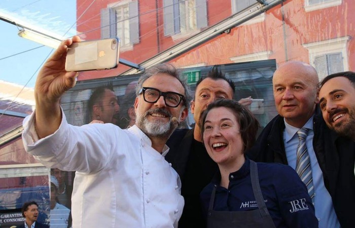Jennifer Massier, the emotional Chef
